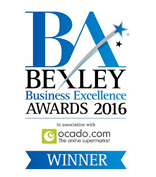 Bexley Business Excellence Awareds Winner 2016