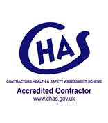 CHAS Contractors Health and Safety Assessment Scheme logo