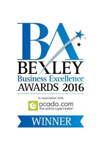Bexley Business Excellence Awareds Winner 2016