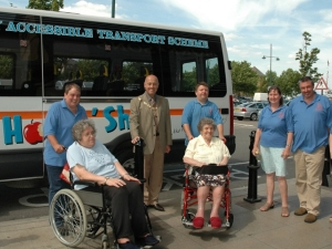 Hop 'n' Shop Bus service - Bexley Accessible Transport Scheme (BATS)