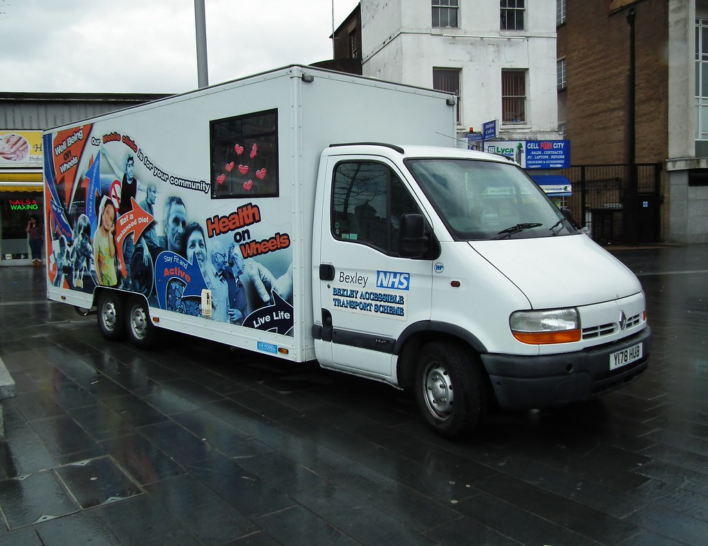 Health on Wheels service - Bexley Accessible Transport Scheme (BATS)