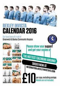 BIFC 2016 calendar