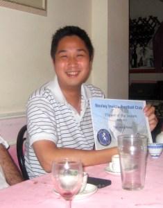 Tak Leung Hung, Player of the Season 2010-11