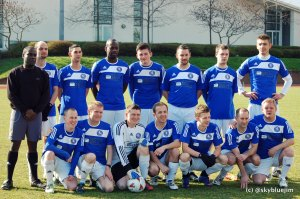 BIFC squad vs London Falcons, March 2012