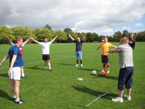 Pre-Season training stretches