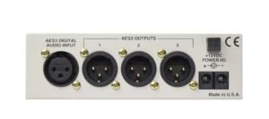 300 AES Distribution Amp Plus back