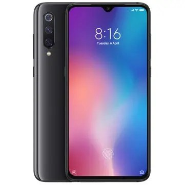 Xiaomi Mi9 Mi 9 Global Version 6.39 inch 48MP Triple Rear Camera NFC 6GB 64GB Snapdragon 855 Octa core 4G Smartphone - Piano Black