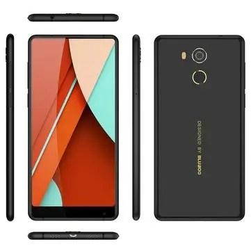 banggood Bluboo D5 Pro MTK6737 1.3GHz 4コア BLACK(ブラック)
