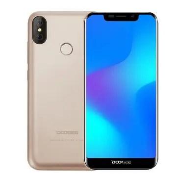 banggood DOOGEE X70 3G MTK6580A 1.3GHz 4コア GOLD(ゴールド)