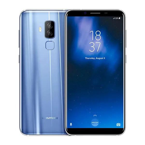 banggood HOMTOM S8 MTK6750T 1.5GHz 8コア BLUE(ブルー)