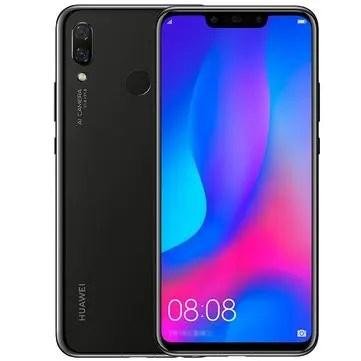 banggood HUAWEI Nova 3 Kirin 970 2.4GHz 8コア BLACK(ブラック)