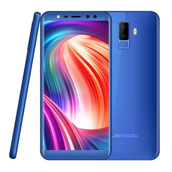banggood LEAGOO M9 3G MTK6580A 1.3GHz 4コア BLUE(ブルー)