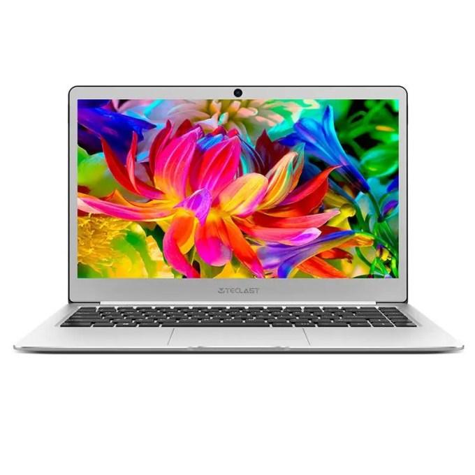 banggood Teclast F7 Notebook Apollo Lake Celeron N3450 1.1GHz 4コア SILVER(シルバー)