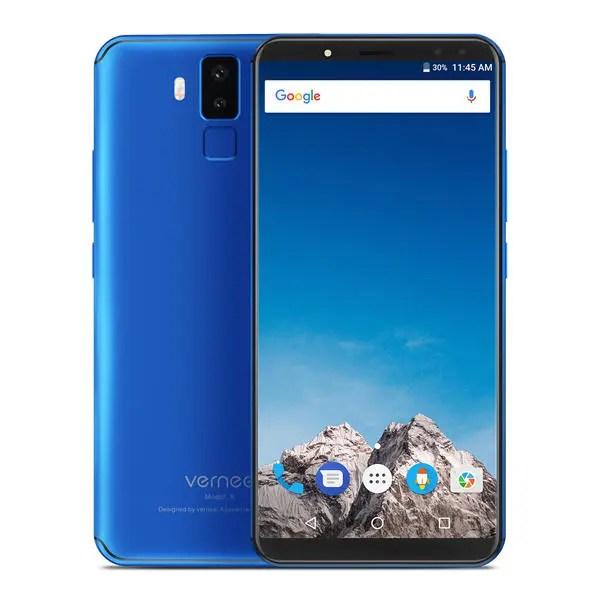 banggood Vernee X MTK6763 Helio P23 2.0GHz 8コア BLUE(ブルー)