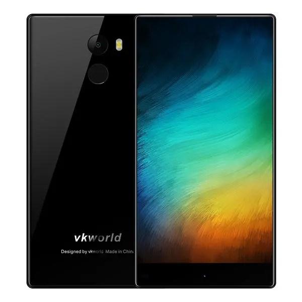 banggood Vkworld Mix Plus MTK6737 1.3GHz 4コア BLACK(ブラック)