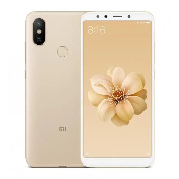 banggood Xiaomi Mi 6X Snapdragon 660 MSM8956 Plus 2.2GHz 8コア GOLD(ゴールド)
