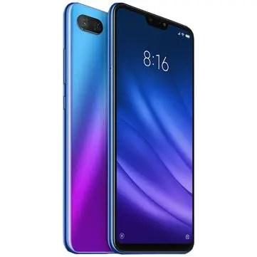 banggood Xiaomi Mi8 Lite Snapdragon 660 MSM8956 Plus 2.2GHz 8コア BLUE(ブルー)