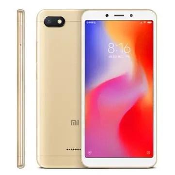 banggood Xiaomi Redmi 6A MTK6765 Helio A22 2.0GHz 4コア GOLD(ゴールド)