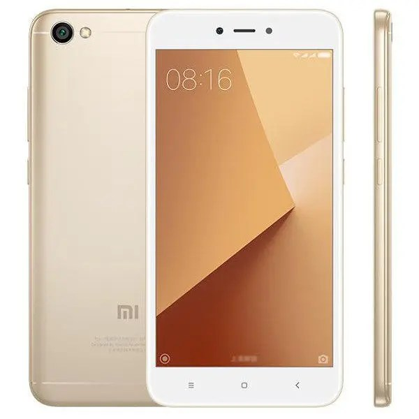 banggood Xiaomi Redmi Note 5A Snapdragon 435 MSM8940 1.4GHz 8コア GOLD(ゴールド)