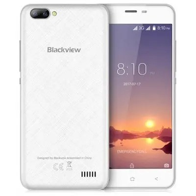 gearbest Blackview A7 3G MTK6580A 1.3GHz 4コア WHITE(ホワイト)
