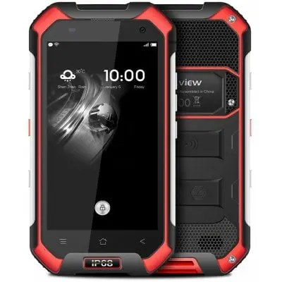 gearbest BV6000S MTK6735 1.3GHz 4コア RED(レッド)