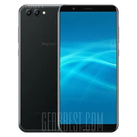 gearbest Huawei Honor V10 Kirin 970 2.4GHz 8コア BLACK(ブラック)
