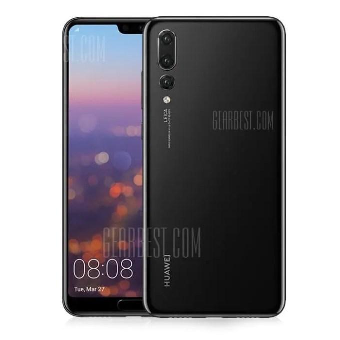 gearbest Huawei P20 Pro Kirin 970 2.4GHz 8コア BLACK(ブラック)