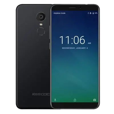 KEECOO P11 MTK6737 1.3GHz 4コア