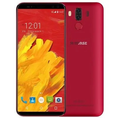 gearbest M-HORSE Pure 3 MTK6763 Helio P23 2.0GHz 8コア RED(レッド)