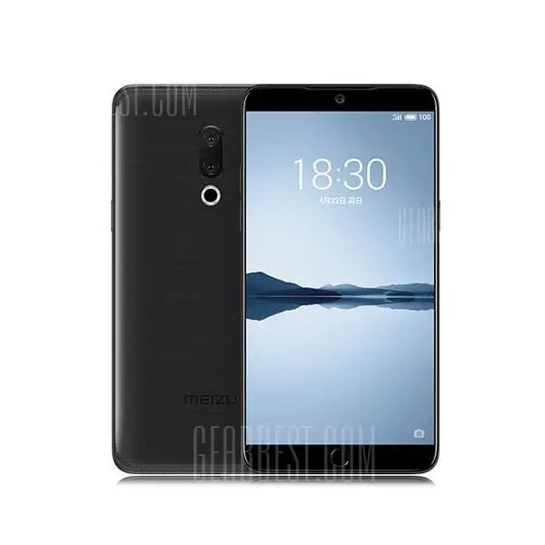 gearbest Meizu 15 Plus Exynos 8895 2.3GHz 8コア EMEA BLACK(ブラック)