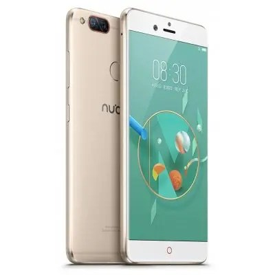 gearbest Nubia Z17 Mini Snapdragon 652 MSM8976 1.8GHz 8コア CHAMPAGNE(シャンペン)