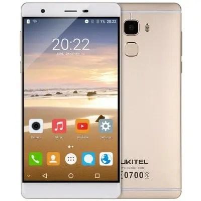 gearbest OUKITEL U13 MTK6753 1.3GHz 8コア CHAMPAGNE GOLD(シャンペンゴールド)