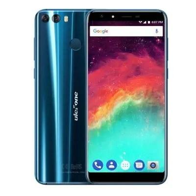 gearbest Ulefone MIX 2 MTK6737 1.3GHz 4コア BLUE(ブルー)