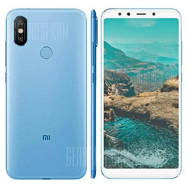 gearbest Xiaomi Mi A2 Lite Snapdragon 625 MSM8953 2.0GHz 8コア BLUE(ブルー)