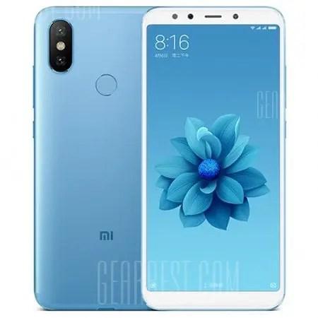 gearbest Xiaomi Mi A2 Snapdragon 660 MSM8956 Plus 2.2GHz 8コア BLUE(ブルー)