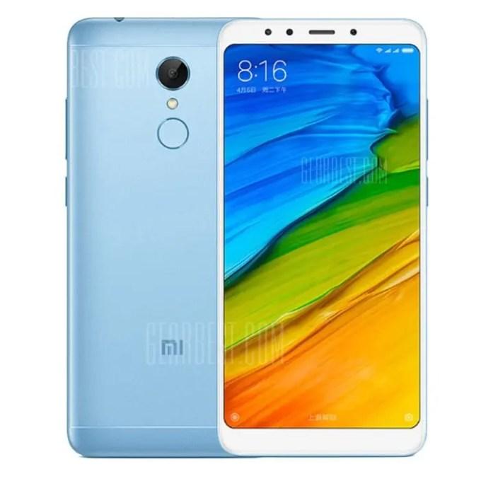 gearbest Xiaomi Redmi 5 Snapdragon 450 1.8GHz 8コア BLUE(ブルー)