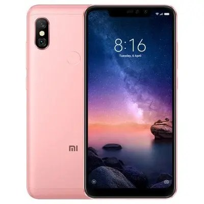 gearbest Xiaomi Redmi Note 6 Pro Snapdragon 636 SDM636 8コア ROSE GOLD(ローズゴールド)