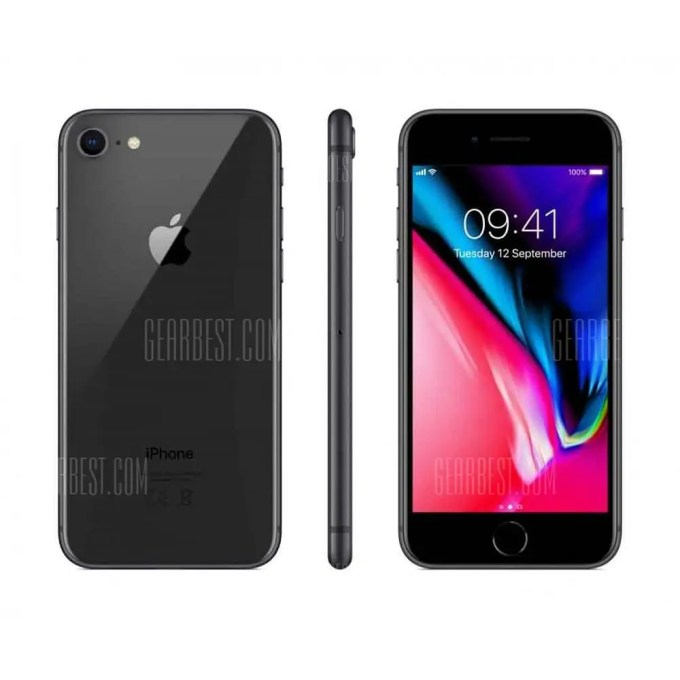 gearbest iPhone 8 A11 Bionic GREY(グレイ)