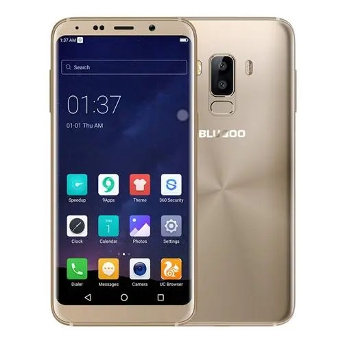geekbuying Bluboo S8 MTK6750T 1.5GHz 8コア GOLD(ゴールド)