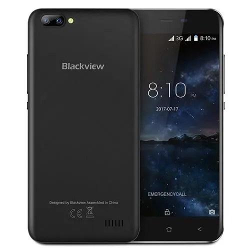 geekbuying Blackview A7 3G MTK6580A 1.3GHz 4コア BLACK(ブラック)