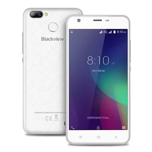 geekbuying Blackview A7 Pro MTK6737 1.3GHz 4コア WHITE(ホワイト)