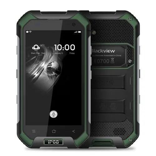 geekbuying BV6000S MTK6735 1.3GHz 4コア GREEN(グリーン)