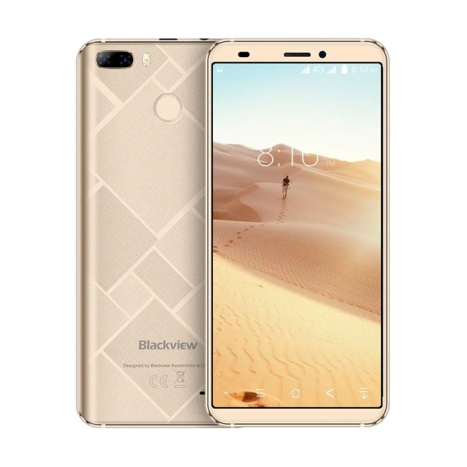 geekbuying Blackview S6 MTK6737 1.5GHz 4コア GOLD(ゴールド)