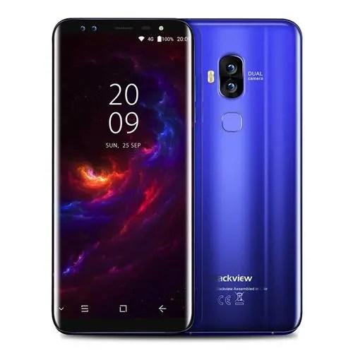 geekbuying Blackview S8 MTK6750T 1.5GHz 8コア BLUE(ブルー)