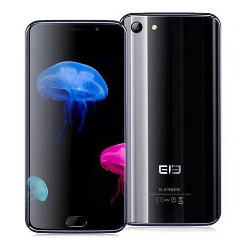 geekbuying Elephone S7 MTK6797 Helio X20 2.0GHz 10コア BLACK(ブラック)