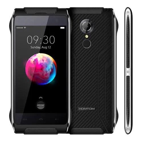 geekbuying HOMTOM HT20 Pro MTK6753 1.3GHz 8コア BLACK(ブラック)