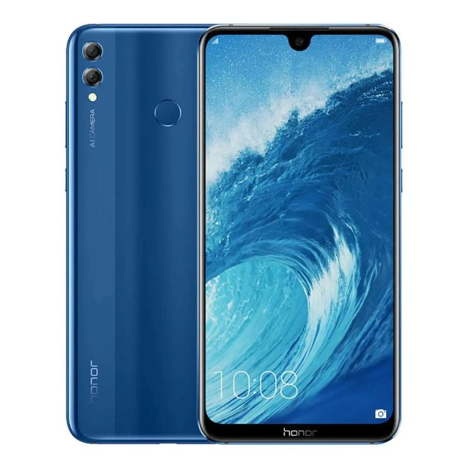 geekbuying Huawei Honor 8X Max Snapdragon 636 SDM636 1.8GHz 8コア BLUE(ブルー)
