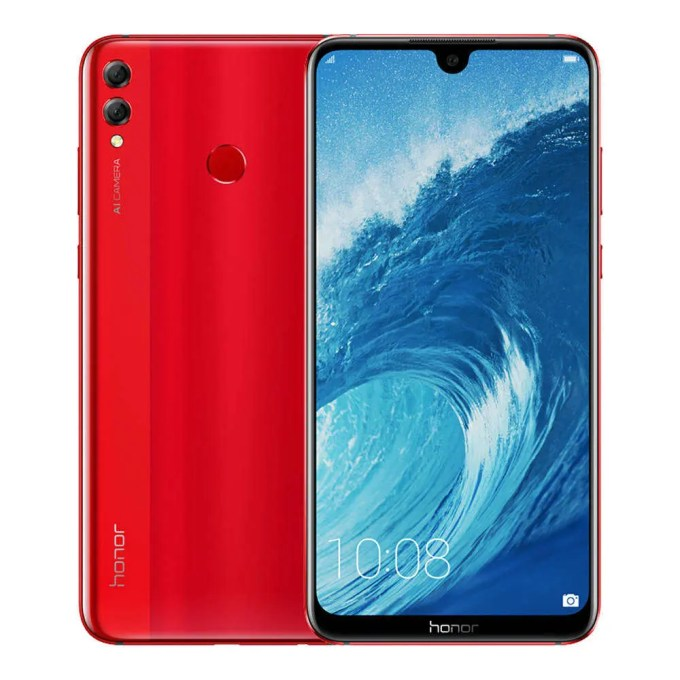 geekbuying Huawei Honor 8X Max Snapdragon 636 SDM636 1.8GHz 8コア RED(レッド)
