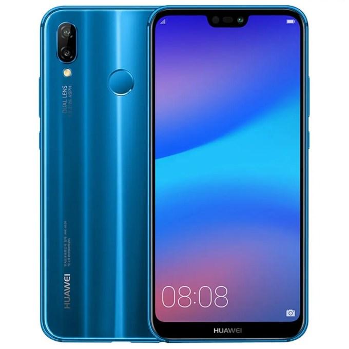 geekbuying HUAWEI nova 3e Kirin 659 2.36GHz 8コア BLUE(ブルー)