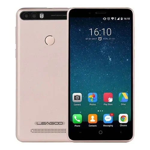 geekbuying LEAGOO KIICAA POWER 3G MTK6580A 1.3GHz 4コア GOLD(ゴールド)